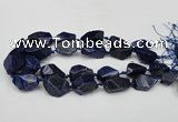 CNG1716 15.5 inches 15*20mm - 20*30mm nuggets lapis lzuli beads