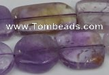 CNG1724 15.5 inches 18*25mm - 20*30mm freeform ametrine beads