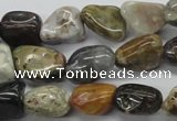 CNG210 15.5 inches 12*16mm nuggets ocean stone beads