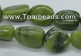 CNG216 15.5 inches 13*18mm nuggets canadian jade gemstone beads