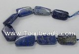 CNG2428 15.5 inches 25*35mm - 30*40mm freeform lapis lazuli beads