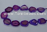 CNG2609 15.5 inches 30*35mm - 40*45mm freeform agate beads