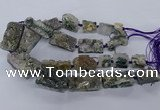 CNG2632 15.5 inches 18*25mm - 20*40mm freeform druzy amethyst beads