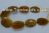 CNG2647 15.5 inches 30*38mm - 40*50mm freeform agate beads