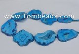 CNG2678 15.5 inches 30*40mm - 40*50mm freeform druzy agate beads