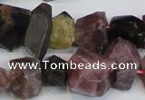 CNG2704 15.5 inches 10*14mm - 13*18mm faceted nuggets tourmaline beads