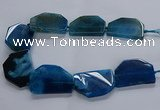 CNG2749 15.5 inches 30*45mm - 35*50mm freeform agate beads
