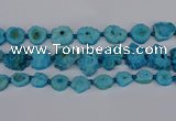 CNG2764 15.5 inches 15*20mm - 25*30mm freeform druzy agate beads