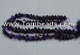CNG2820 10*14mm - 13*18mm faceted nuggets amethyst beads