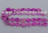 CNG2847 15.5 inches 15*20mm - 25*30mm freeform druzy agate beads