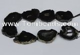 CNG2897 15.5 inches 35*40mm - 45*50mm freeform druzy agate beads