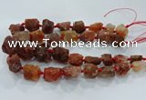 CNG3001 15.5 inches 15*20mm - 22*30mm nuggets agate beads