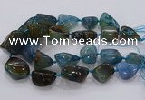 CNG3050 25*30mm - 30*40mm nuggets agate gemstone beads