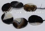 CNG3133 15.5 inches 45*55mm - 55*60mm freeform druzy agate beads