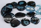 CNG3136 15.5 inches 35*45mm - 45*50mm freeform druzy agate beads