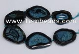 CNG3137 15.5 inches 45*50mm - 55*60mm freeform druzy agate beads