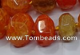 CNG3175 15.5 inches 12*16mm - 25*30mm nuggets agate beads