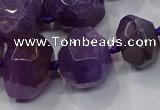 CNG3176 15.5 inches 12*16mm - 25*30mm nuggets agate beads