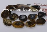 CNG3193 15.5 inches 35*45mm - 40*50mm freeform opal gemstone beads