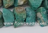 CNG3245 15.5 inches 15*20mm - 25*30mm nuggets amazonite beads