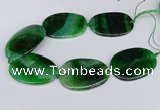 CNG3353 15.5 inches 40*50mm - 45*60mm freeform agate beads