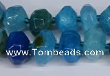 CNG3369 15.5 inches 10*14mm - 12*16mm nuggets agate beads