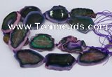 CNG3461 15.5 inches 35*40mm - 45*55mm freeform agate beads
