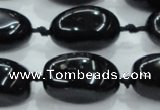 CNG352 15.5 inches 15*20mm - 20*35mm nuggets obsidian beads