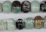 CNG42 15.5 inches 11*15mm nuggets amazonite gemstone beads
