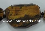 CNG462 15.5 inches 20*25mm - 25*55mm nuggets tiger eye beads