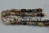 CNG5066 15.5 inches 13*20mm - 15*25mm faceted nuggets pink opal beads