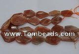 CNG5083 15.5 inches 20*30mm - 25*45mm freeform sunstone beads