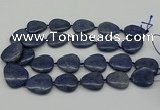 CNG5164 15.5 inches 16*22mm - 30*35mm freeform blue dumortierite beads