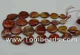 CNG5171 15.5 inches 16*22mm - 30*35mm freeform rainbow stone beads