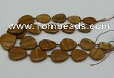 CNG5172 15.5 inches 16*22mm - 30*35mm freeform picture jasper beads