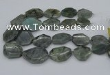 CNG5254 15.5 inches 22*30mm - 35*45mm faceted freeform labradorite beads