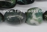 CNG53 15.5 inches 12*18mm - 24*30mm nuggets grass agate beads