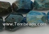 CNG5388 15.5 inches 12*16mm - 15*25mm faceted nuggets apatite beads