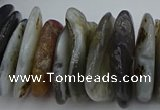 CNG5432 5*20mm - 8*25mm nuggets botswana agate gemstone beads