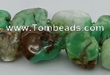 CNG5433 10*14mm - 20*30mm nuggets Australia chrysoprase beads