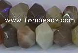 CNG5581 15.5 inches 10*14mm - 13*18mm faceted nuggets moonstone beads