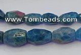 CNG5925 15.5 inches 8*10mm - 10*14mm faceted nuggets apatite beads