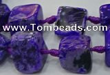 CNG6002 15.5 inches 12*16mm - 15*18mm nuggets agate beads