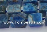 CNG6828 15.5 inches 8*12mm - 10*16mm nuggets apatite beads