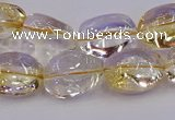 CNG6857 15.5 inches 12*16mm - 13*18mm nuggets citrine beads
