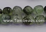 CNG6865 15.5 inches 8*12mm - 10*14mm nuggets prehnite beads
