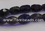 CNG6886 15.5 inches 5*8mm - 8*12mm faceted nuggets iolite beads