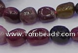 CNG6904 15.5 inches 8*12mm - 10*14mm nuggets tourmaline beads
