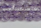CNG7215 15.5 inches 6mm faceted nuggets amethyst beads wholesale