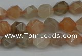 CNG7291 15.5 inches 8mm faceted nuggets moonstone beads